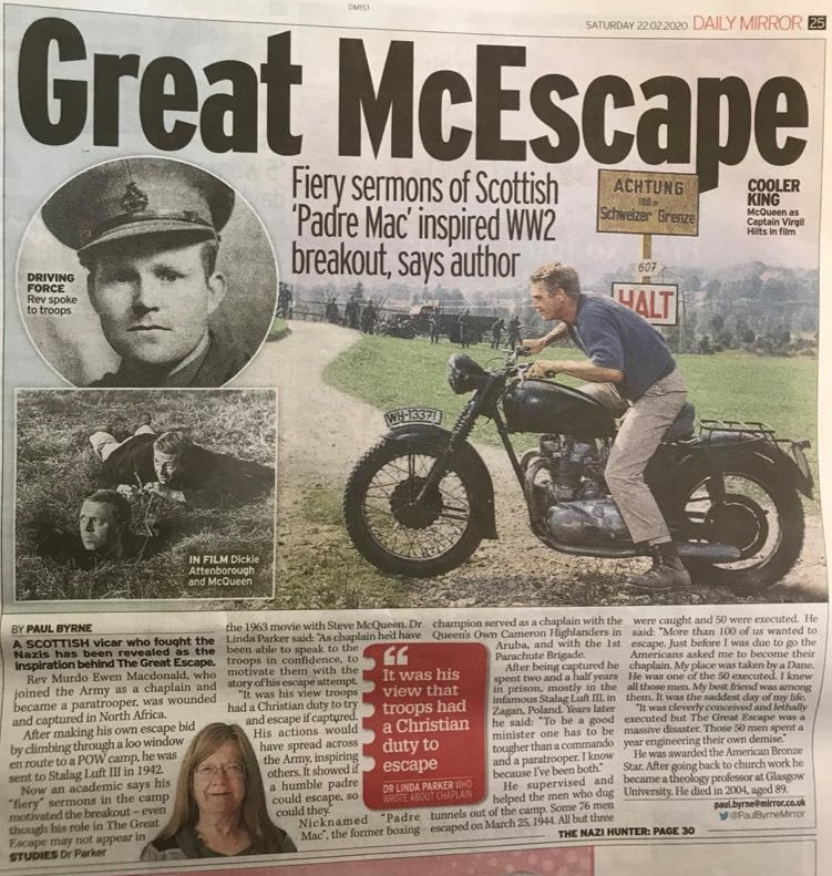 Great Escape Daily Mirror