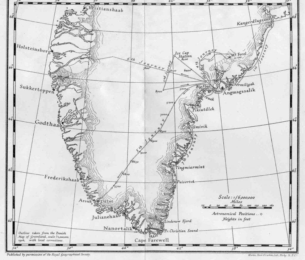 Britain and the Arctic Greenland expedition