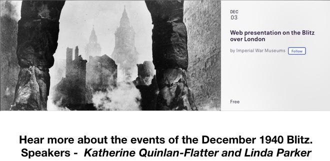 IWM Web presentation on the Blitz over London
