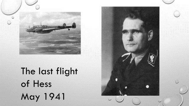 Hess flight to Scotland